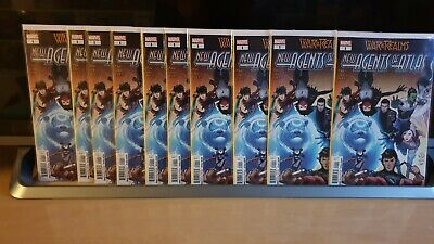 WAR OF THE REALMS: NEW AGENTS OF ATLAS #1 x2 Copies
