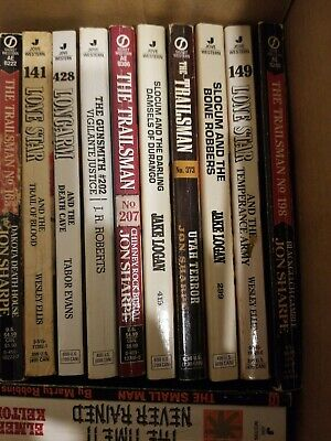 Western Books Mixed Authors Bulk Lot of 63