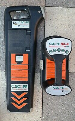 C Scope Cat and Genny / Cable Avoidance Tool / Like Radiodetection /