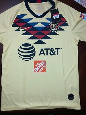 hot sale online a1376 d1752 NEW CLUB AMERICA 2019-2020 Large Jersey Mexico Liga MX Fútbol Soccer