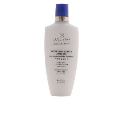 Cosmética Collistar mujer ANTI-AGE cleansing milk face & eyes 200 ml