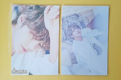 V - BTS Serendipity 오늘 Japan Official Postcard Photocard Exhibition Set Taehyung