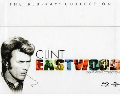 Clint Eastwood - The Collection /8 Movie Set/ [Blu-ray] New and factory sealed
