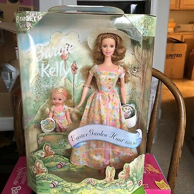 Barbie Doll and Kelly Easter Garden Hunt Gift Set Special Edition 2000