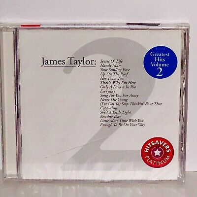 Factory Sealed James Taylor Greatest Hits, Vol. 2 CD
