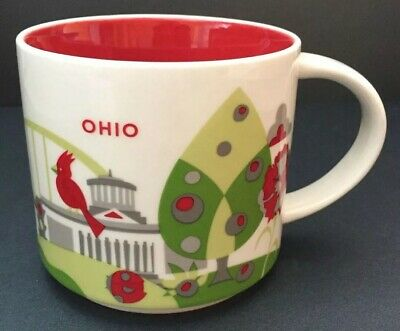 Brand New With Tag - Starbucks - You are Here YAH Collection Ohio Mug - 14 oz.
