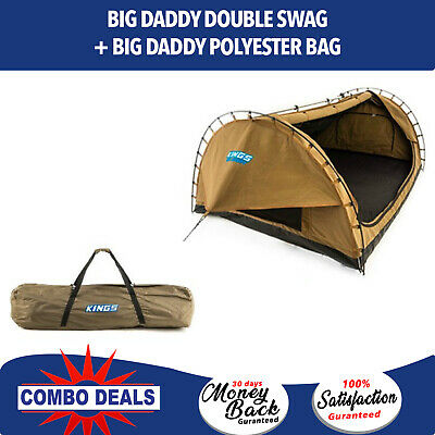 Adventure Kings Big Daddy Double Swag + Big Daddy Polyester Bag