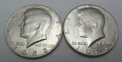 **FREE SHIPPING** 1984 P /& D JEFFERSON NICKEL SET 2 COINS
