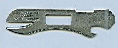 1940'S  W T Whittingslowe Combination Tool Number 43 Pat No. 11814/43 Rd21405.