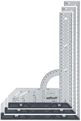 Wolfcraft 5205000 Try Square 300 mm, Universal Angle