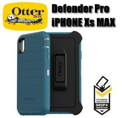 New Authentic Otterbox Defender Pro Iphone XS MAX Rugged Protection Case Holster