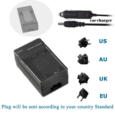 Charger for Sony Cybershot Dsc P12/P2/ P3/P5/ P7/P8/P9/V1 NP-FC10 Battery