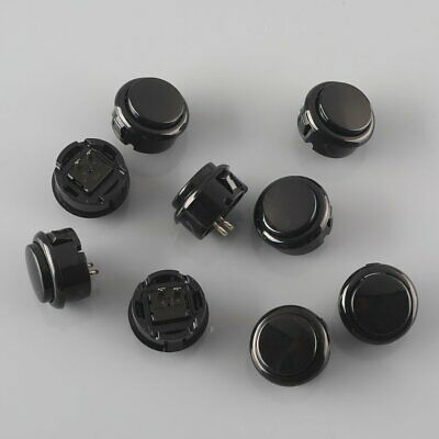 10x OEM 30mm Push Button Replace For Sanwa OBSF-30 Buttons Arcade Stick PC Games