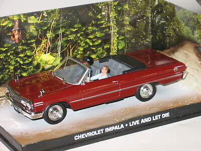James Bond 007 Collection 1//43 CHEVROLET IMPALA LIVE AND LET les dans O-Box #5612