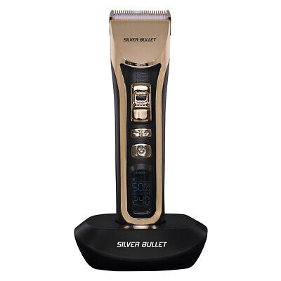 Silver Bullet Lithium Pro 240 Luxe Hair Clipper + FREE Nose & Ear Trimmer