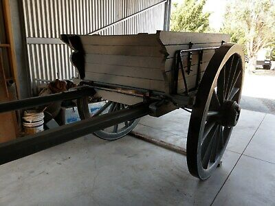 vintage horse drawn wagon
