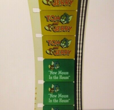 16MM FILM TOM and Jerry in 'NEW MOUSE IN THE HOUSE' 1980 super color  CARTOON tv