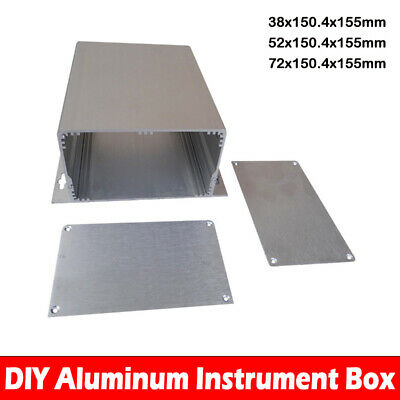 Aluminum Box Enclosure Case Project electronic for PCB DIY XD-142 3 Size New