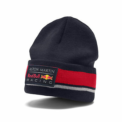 New! 2019 Aston Martin Red Bull Racing F1 Team Beanie Knitted Hat Adult One Size