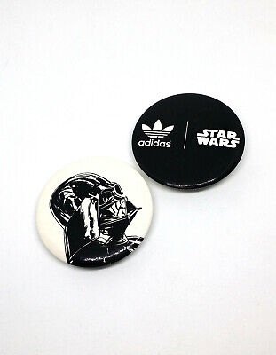 Adidas Originals x Star Wars Darth Vader Pinback Button Pin Badge Set Of 2