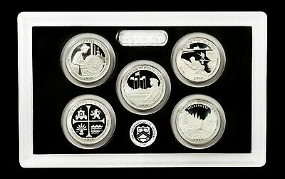 2019 S Silver Proof Quarter Set - (5 Coins) - 99.9% SILVER! - TOTALLY FRESH!