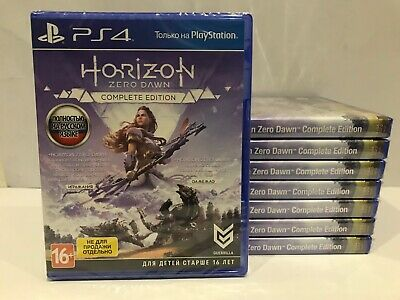 Horizon Zero Dawn: Complete Edition Sony Playstation 4 PS4 Brand New Factory Sea