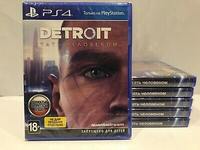 Detroit: Become Human Sony Playstation 4 PS4 Brand New Factory Sealed