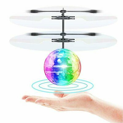 Magic Electric Flying Ball Helicopter Infrared Sensor Kids UFO Ball Toy Drone UK