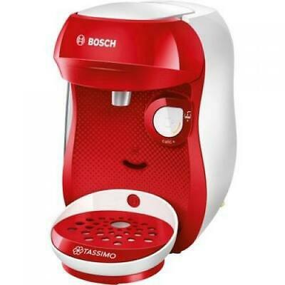 Machine À Capsules Bosch Happy Rouge, Blanc Tas1006