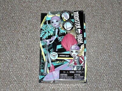 2015 Mattel Monster High Surf-to-Turf Scooter Lagoona Blue New MIB