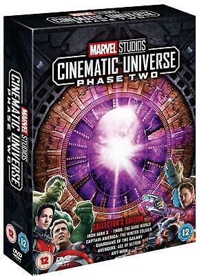 Marvel Studios Cinematic Universe: Phase Two NEW SEALED DVD 6 DISC BOX