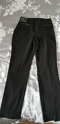 black New Look trousers age 14. Straight cut. Height 164cm. 915 generation.