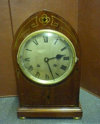 Victorian Qtr Striking Ting Tang Bracket Clock J J E England Recently Serviced