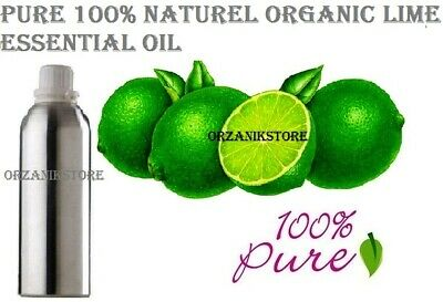 Lime Essential Oil 5 ml - 100 ml Pure 100% Natural Therapeutic Aromatherapy