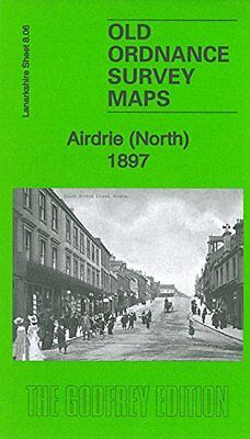Old Ordnance Survey Map Of Airdrie North 1897