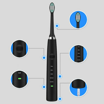 Oral Care Portable Usb Electric Toothbrush Professional Ultrasonic Toothbrush