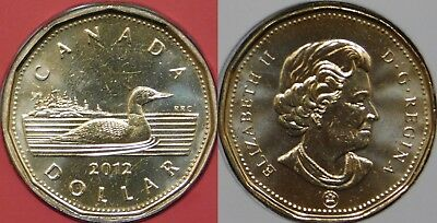 2012 Canada Old Generation Loonie Sealed in Cellophane