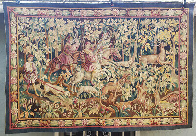 An Antique Aubusson French Tapestry