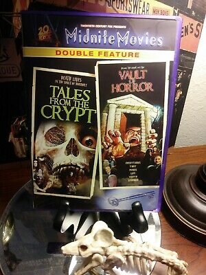 Tales from the Crypt & The Vault of Horror - MGM Midnight Movies DVD - RARE OOP