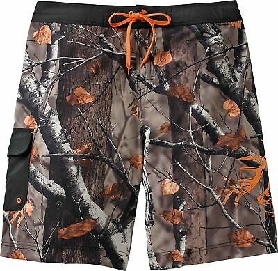 20f767928a Legendary Whitetails Men's Rolling Stone Big Game Camo Swim Trunks