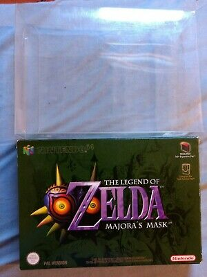 Zelda Majora's Mask Nintendo 64 N64 Boxed Complete PAL Very Good Condition
