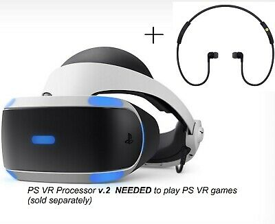 """(read details) """"Replacement"""" New PS4 VR PSVR Headset v2 ONLY Sony PlayStation 4"""