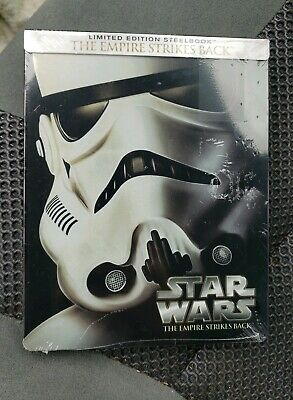 Star Wars The Empire Strikes Back Limited Edition SteelBook Bluray NEW