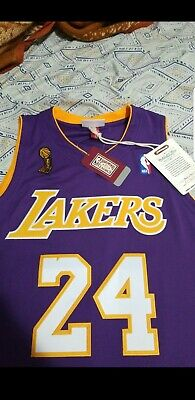 ead2bdea5b9 Kobe Bryant Los Angeles Lakers Mitchell & Ness 2008-09 Hardwood Classics.
