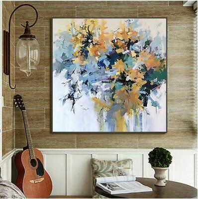 VV173  Modern Hand-painted abstract Art oil painting on canvas Frameless 24''