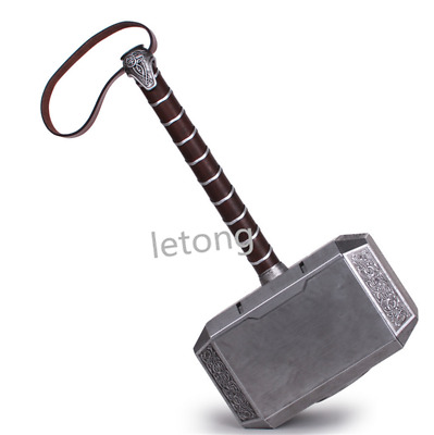 1//1 Thor/'s Hammer Full Metal Cosplay Prop Led Light Thor Odinson 4KG Collection