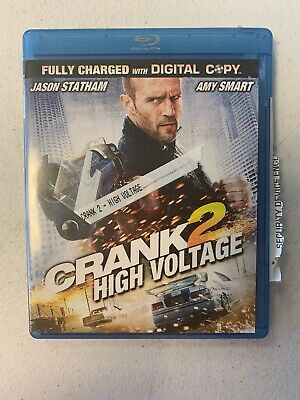 Crank 2: High Voltage - Jason Statham & Amy Smart     Blu-ray   Pre Owned