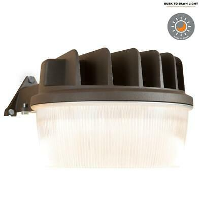 Halo Bronze Outdoor LED Dusk to Dawn Area Light w/ Built-In Photocell
