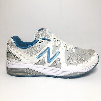 more photos 6b371 4fd7d NEW BALANCE 1540V2 White Blue Rollbar Running Shoes W1540WB2 Women's Size  9.5
