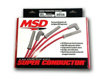 MSD LS HIGH Performance Spark Plug Wire Set 8 5 LS1 LS2 LS3